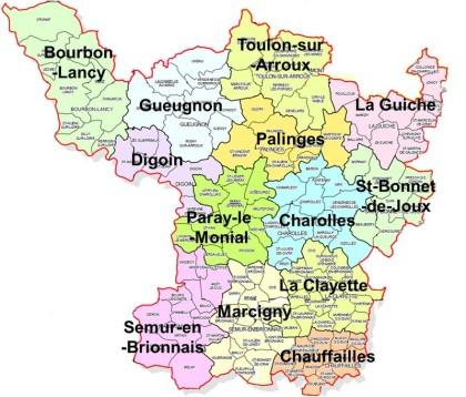 Généalogie des Familles en Pays Charolais Brionnais par Lion